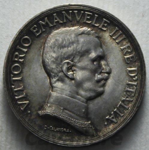 vittorio Emanuele Iii Littore, Moneta Antica 20 Lire 1928