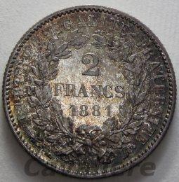 Repubblica Francese 2 Franchi Ag ...