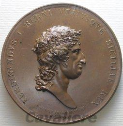 Napoli - Ferdinando I di Borbone ...