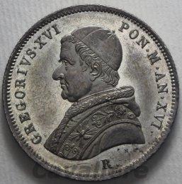 Stato Pontificio Gregorio XVI ...