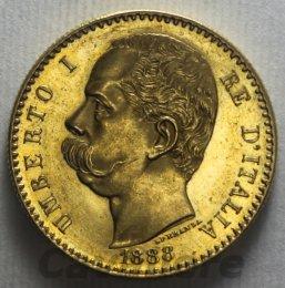 50 Lire Au 1888  Gigante n°7 ...