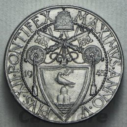 Pio XII 1939-1958 50 Centesimi Ac ...