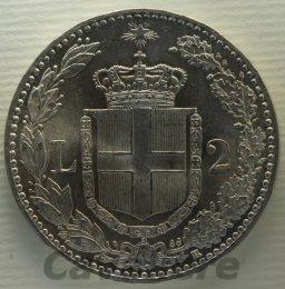 2 Lire Ag 1899 Gigante 34 ...