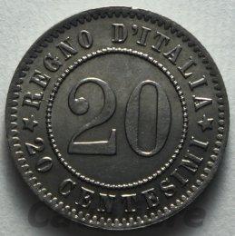 20 Centesimi Ni 1894 zecca di ...