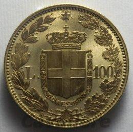 100 Lire Au 1883 -R- Esemplare in ...