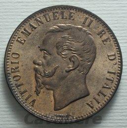 10 Centesimi Cu 1867 zecca di ...