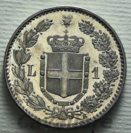 Lira Ag 1886 Conservazione ...